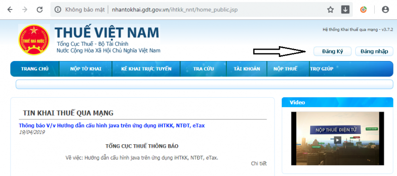 nhantokhai.gdt.gov.vn